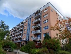 Barrierefreie 2-Raum-Wohnung mit Balkon